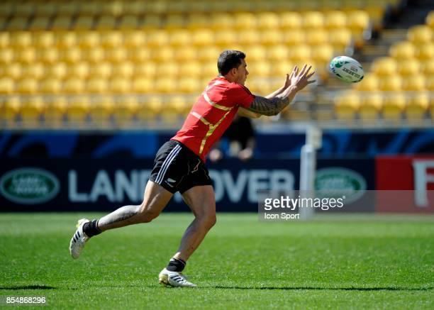 Sonny Bill Williams Entrainement de l'Equipe de la Nouvelle Zelande Coupe du Monde 2011
