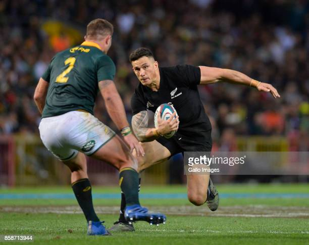 Sonny Bill Williams of New Zealand during the Rugby Championship 2017 match between South Africa and New Zealand at DHL Newlands on October 07 2017...