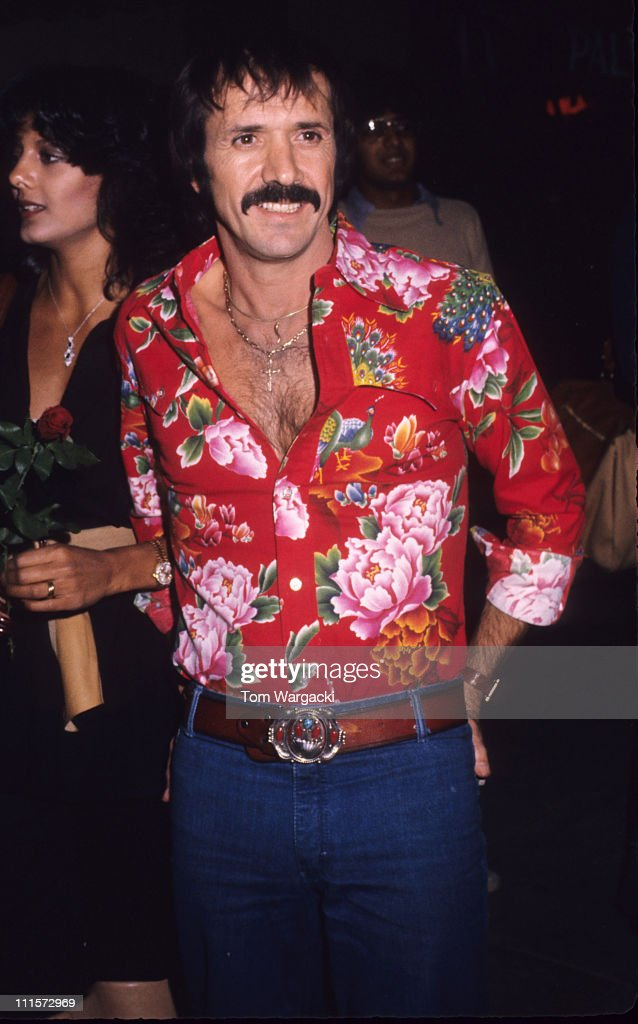 Sonny Bono during Sonny Bono at Palm Restaurant at Palm Restaurant in Los Angeles United States