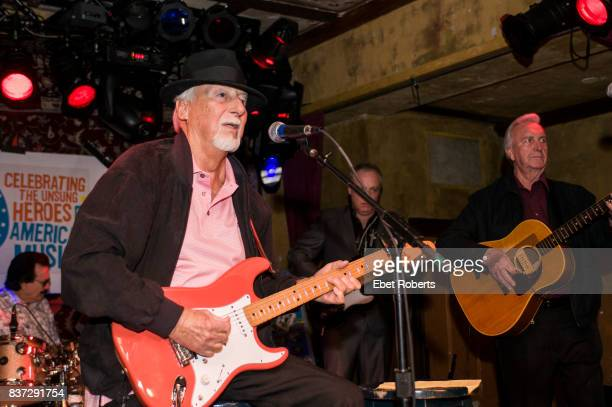 Sonny Burgess performing at the Seventh Annual Ponderosa Stomp held at the House of Blues in New Orleans Louisiana on April 29 2008