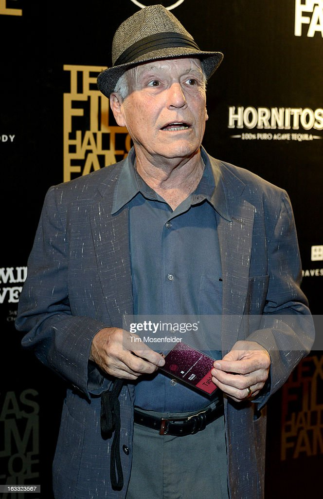 Sonny Carl Davis poses at the Texas Film Hall of Fame Awards at Austin Studios on March 7, 2013 in Austin, Texas.