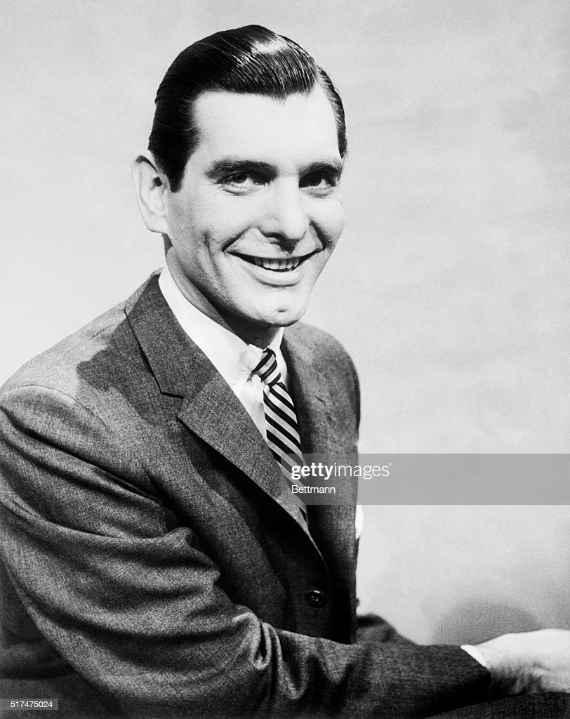 Sonny Fox TV personality in children's show and emcee on the 1956 TV series The $69000 Challenge as well as the 1976 TV series Way Out Games is shown