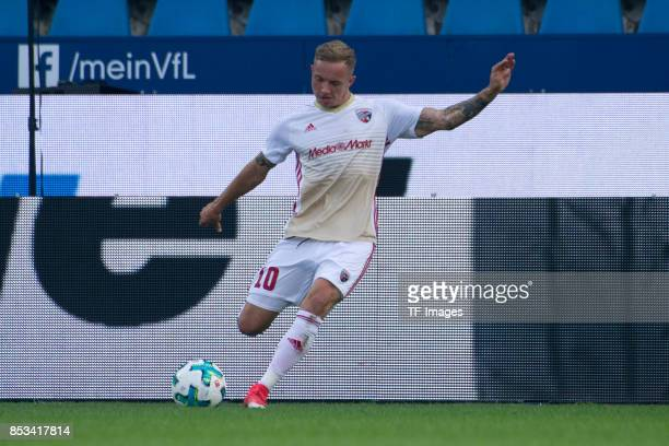 Sonny Kittel of Ingolstadt controls the ball during the Second Bundesliga match between VfL Bochum 1848 and FC Ingolstadt 04 at Vonovia Ruhrstadion...