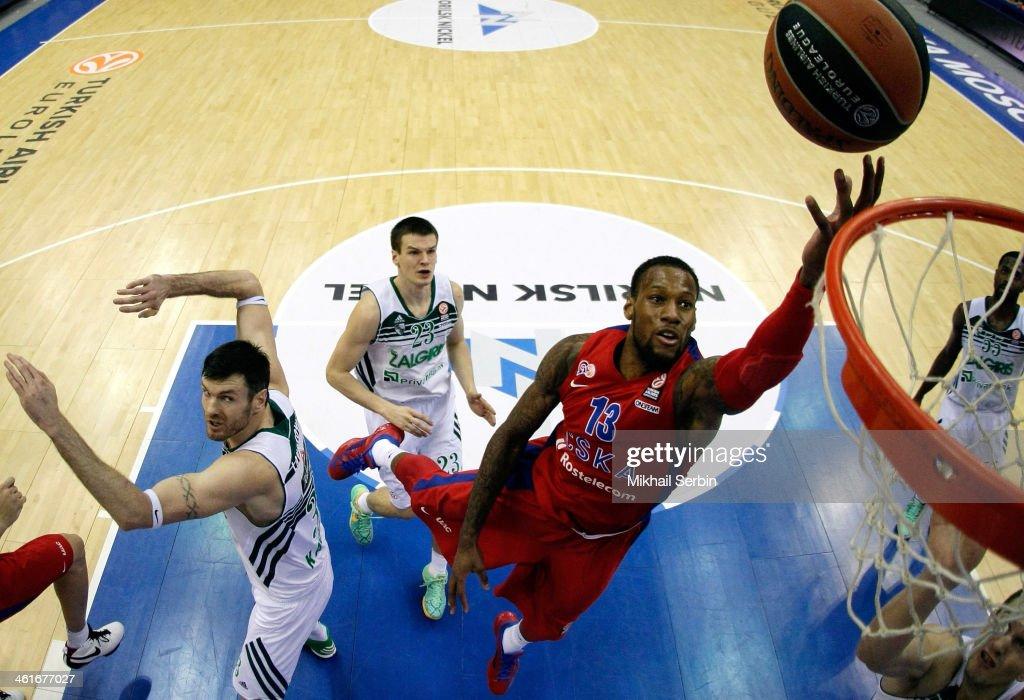 CSKA Moscow v Zalgiris Kaunas - Turkish Airlines Euroleague Top 16
