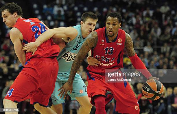 Sonny Weems of CSKA Moscow in action during the Turkish Airlines EuroLeague Final Four third place match between FC Barcelona Regal and CSKA Moscow...