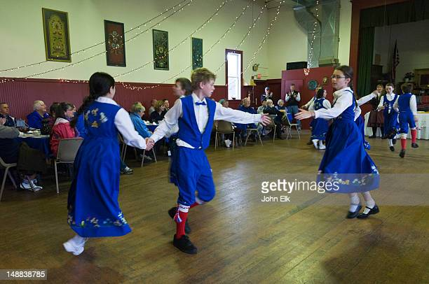 Sons of Norway Hall, dance troop.