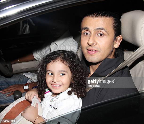 Sonu Nigam arrives for the Global Indian Music Awards function in Mumbai on Wednesday November 10 2010