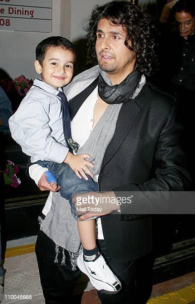 Sonu Nigam at Big Star Indian Music Academy Awards 2011 in Mumbai