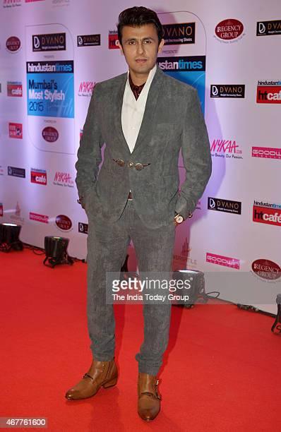 Sonu Nigam at HT Mumbais most stylish awards 2015 in Mumbai