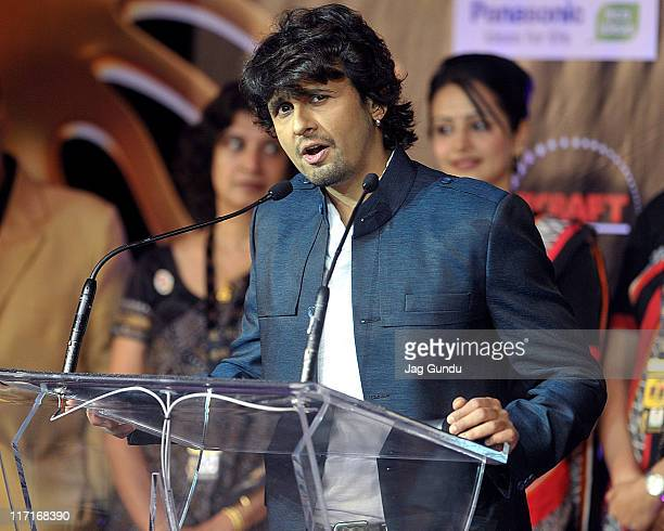 Sonu Nigam at the official launch of the 2011 IIFA awards press conference held at the Royal York Hotel on June 23 2011 in Toronto Canada Photo by...