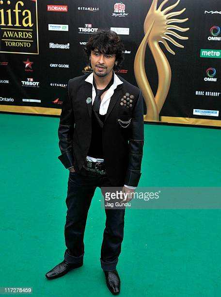 Sonu Nigam attends the IIFA Fashion Rocks green party at the Heritage Court Exhibition Place on June 24 2011 in Toronto Canada
