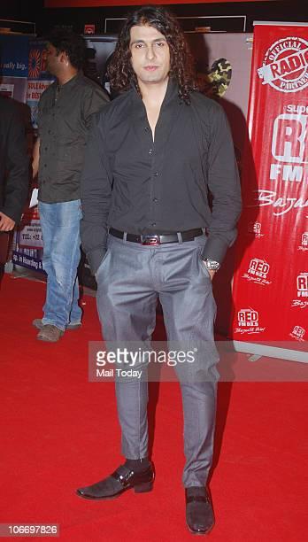 Sonu Nigam during the Global Indian Music Awards function in Mumbai on Wednesday November 10 2010