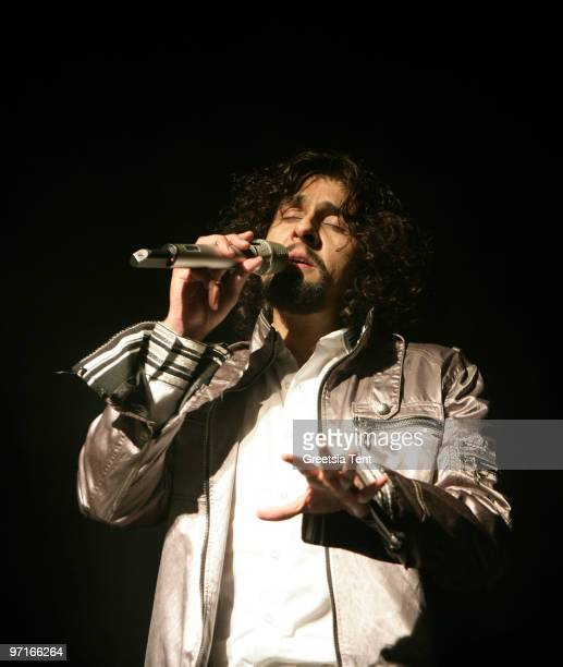 Sonu Nigam performs live at Ahoy on February 27 2010 in Rotterdam Netherlands