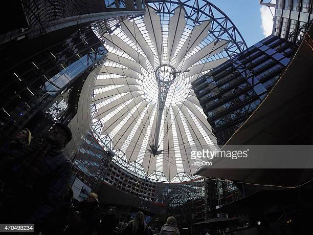Sony center am Potsdamer Platz in Berlin-Mitte, GoPro-Bild