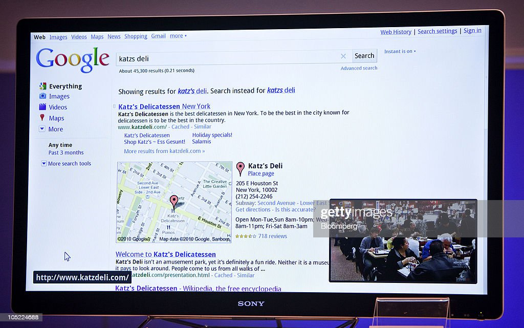sony tv 2010. a sony corp. internet tv is displayed during news conference unveiling the company\u0027s new tv 2010