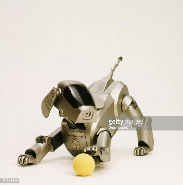 Sony Corporation Announces The Launch Of The DogShaped Autonomous Robot Called 'Aibo' That Can Express Various Emotions And Responsed To External...