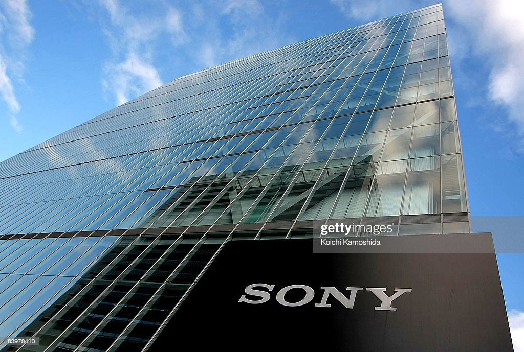 Sony Corporation's headquarters is seen on December 10, 2008 in Tokyo, Japan. Sony announced yesterday to slash 8,000 jobs and 8,000 temporary and contract workers following the recent global downturn, to cut cost by USD 1.1 billion a year.