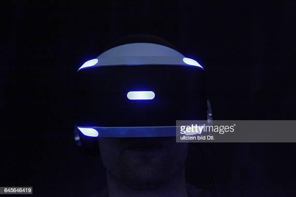 Sony Morpheus Brille im Playroom auf der IFA 2015 in Berlin