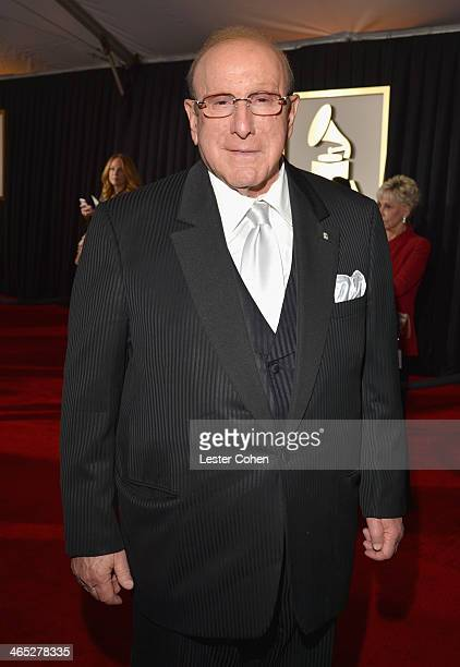 Sony Music Chief Creative Officer Clive Davis attends the 56th GRAMMY Awards at Staples Center on January 26 2014 in Los Angeles California
