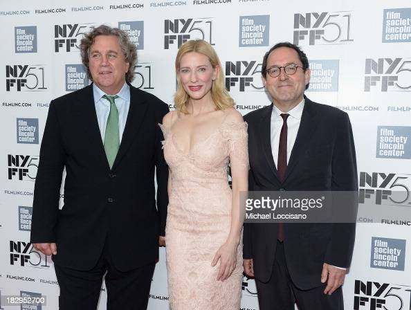 Sony Pictures Classics' CoPresident Tom Bernard actress Cate Blanchett and Sony Pictures Classics' CoPresident Michael Barker attend the Gala Tribute...