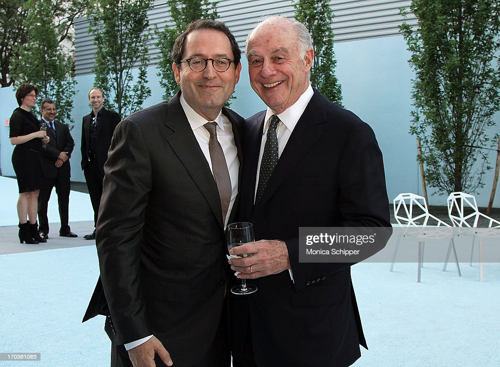 Sony Pictures Co-Founder and Co-President Michael Barker and Museum Board President Herbert S. Schlosser attend Museum of the Moving Image Inaugural Envision Award Gala Dinner at Museum of the Moving Image on June 11, 2013 in New York City.
