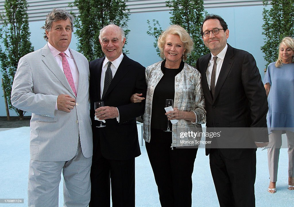 Sony Pictures Co-Founder and Co-President <a gi-track='captionPersonalityLinkClicked' href=/galleries/search?phrase=Tom+Bernard&family=editorial&specificpeople=204620 ng-click='$event.stopPropagation()'>Tom Bernard</a>, guest, actress <a gi-track='captionPersonalityLinkClicked' href=/galleries/search?phrase=Candice+Bergen&family=editorial&specificpeople=210591 ng-click='$event.stopPropagation()'>Candice Bergen</a> and Sony Pictures Co-Founder and Co-President Michael Barker attend Museum of the Moving Image Inaugural Envision Award Gala Dinner at Museum of the Moving Image on June 11, 2013 in New York City.