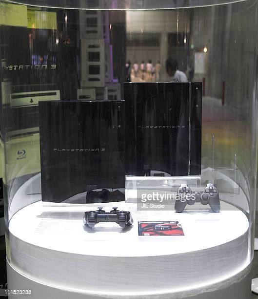 Sony Playstation 3 during Tokyo Game Show 2006 at Makuhari Messe in Makuhari Japan