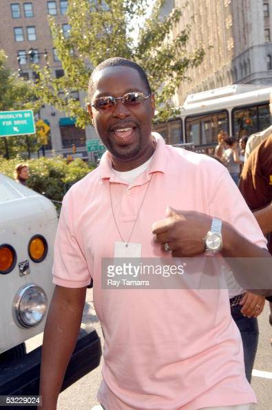 Sony Urban Executive Biff Warren attends the Bow Wow performance at City Hall Park July 12 2005 in New York City