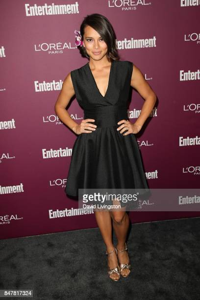 Sonya Balmores attends the Entertainment Weekly's 2017 PreEmmy Party at the Sunset Tower Hotel on September 15 2017 in West Hollywood California