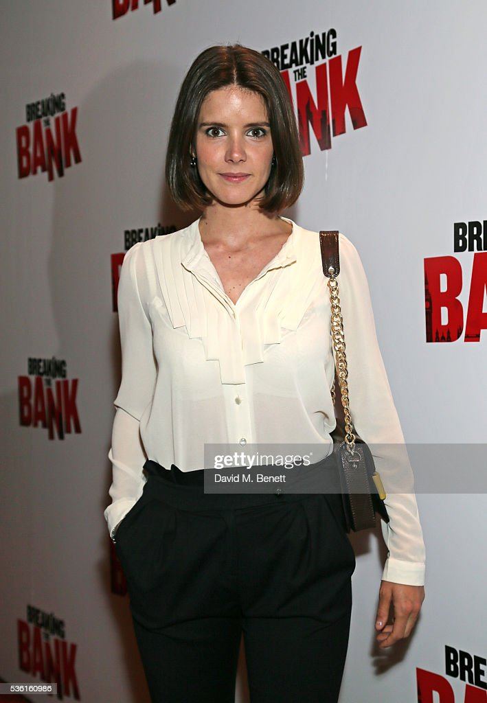 Sonya Cassidy attends the UK gala screening of 'Breaking The Bank' at Empire Leicester Square on May 31, 2016 in London, England.