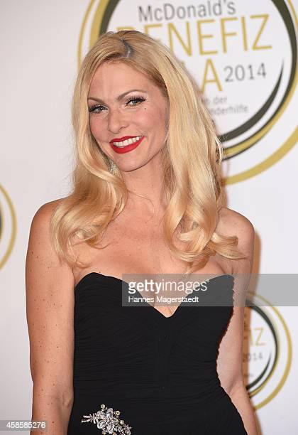 Sonya Kraus attends the McDonald's charity gala on November 7 2014 in Weissach near RottachEgern Germany