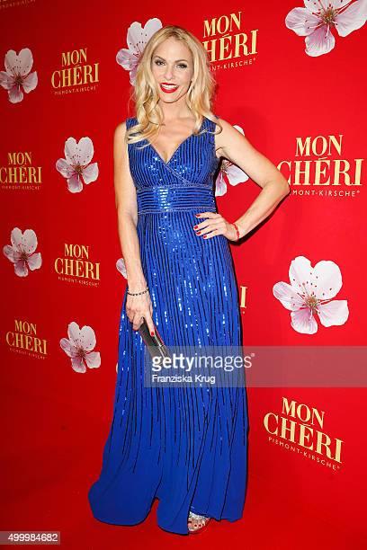 Sonya Kraus attends the Mon Cheri Barbara Tag 2015 at Postpalast on December 4 2015 in Munich Germany