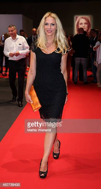 Sonya Kraus attends the SOliver Collection Presentation on July 26 2014 in Duesseldorf Germany
