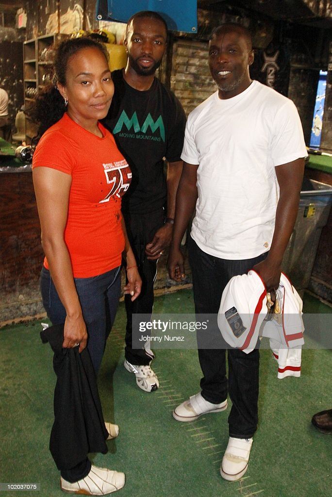 Sonya Sohn Jamie Hector and Michael K Williams attend Moving Mountains Inc's 2010 Fund Raising Weekend on June 12 2010 in New York City