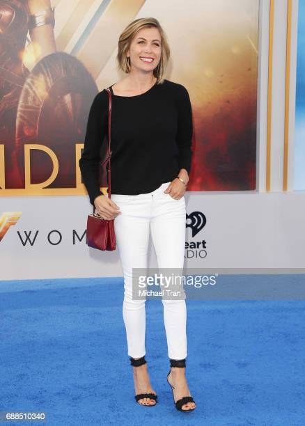 Sonya Walger arrives at the Los Angeles premiere of Warner Bros Pictures' 'Wonder Woman' held at the Pantages Theatre on May 25 2017 in Hollywood...