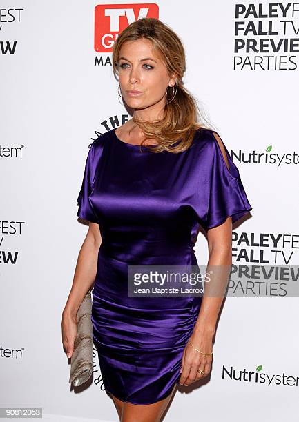 Sonya Walger arrives at The PaleyFest TV Guide Magazine's ABC Fall TV Preview Party at The Paley Center for Media on September 15 2009 in Beverly...