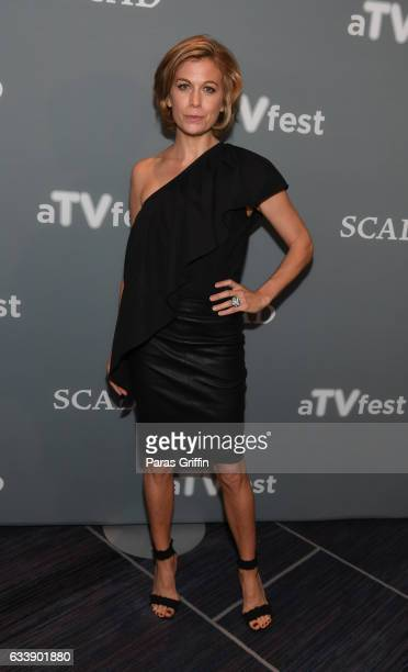 Sonya Walger attends 5th Annual aTVfest on February 4 2017 in Atlanta Georgia