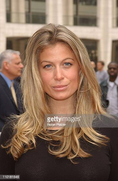 Sonya Walger during NBC 20032004 Upfront Arrivals at The Metropolitan Opera House in New York City New York United States