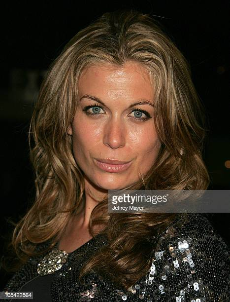 Sonya Walger during 'The Upside of Anger' Los Angeles Premiere Arrivals at The National in Westwood California United States