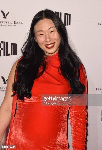 Sonya Yu attends SFFILM's 60th Anniversary Awards Night at Palace of Fine Arts Theatre on December 5 2017 in San Francisco California
