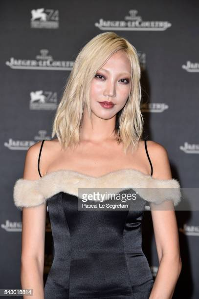 Soo Joo Park arrives for the JaegerLeCoultre Gala Dinner during the 74th Venice International Film Festival at Arsenale on September 5 2017 in Venice...