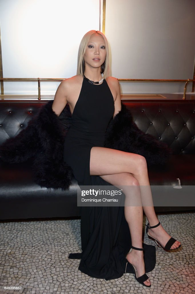 Soo Joo Park attends the 'L'Oreal Paris Dinner Hosted By Julianne Moore' as part of the Paris Fashion Week Womenswear Fall/Winter 2017/2018 on March 5, 2017 in Paris, France.