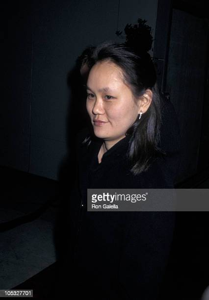 Soon Yi Previn during 1996 Vanity Fair Oscar Party Arrivals at Morton's Restaurant in West Hollywood California United States
