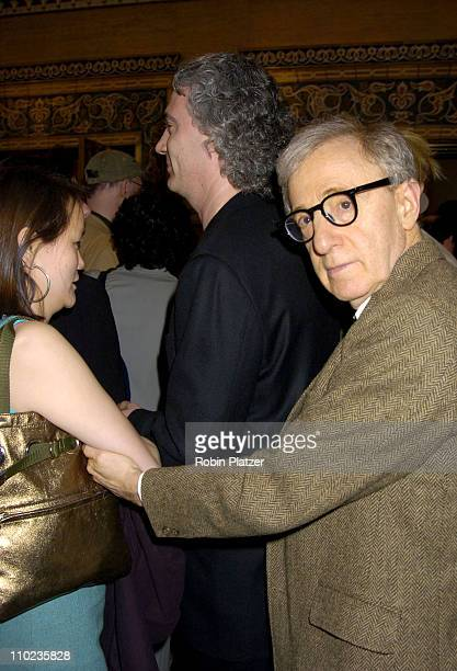 SoonYi Previn and Woody Allen during Martha Graham Dance Company Opening Night Gala at The City Center in New York City New York United States