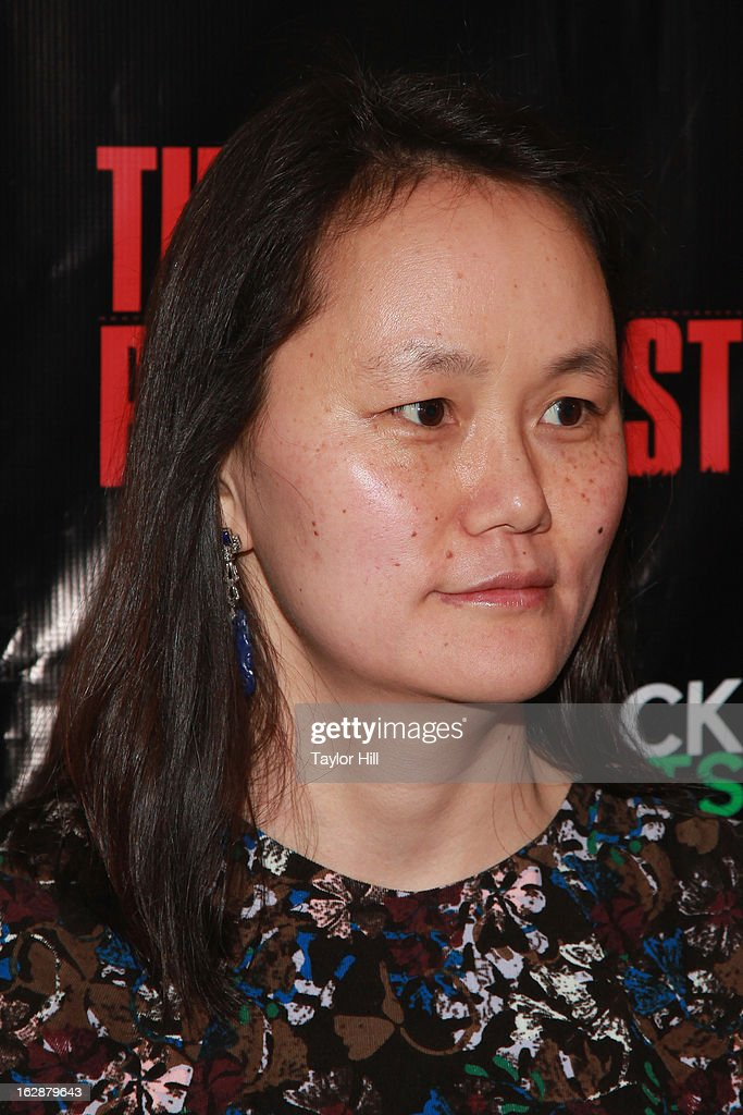 <a gi-track='captionPersonalityLinkClicked' href=/galleries/search?phrase=Soon-Yi+Previn&family=editorial&specificpeople=208814 ng-click='$event.stopPropagation()'>Soon-Yi Previn</a> attends 'The Revisionist' Opening Night at Cherry Lane Theatre on February 28, 2013 in New York City.