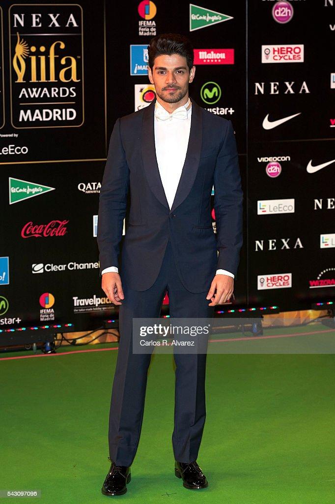Sooraj Pancholi attends the 17th IIFA Awards (International Indian Film Academy Awards) at Ifema on June 25, 2016 in Madrid, Spain.