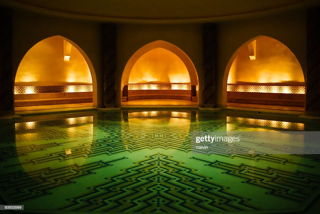 Soothing Hammam : Stock Photo