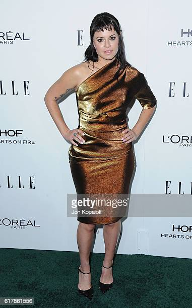 Sophia Amoruso arrives at the 23rd Annual ELLE Women In Hollywood Awards at Four Seasons Hotel Los Angeles at Beverly Hills on October 24 2016 in Los...