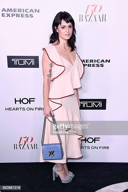 Sophia Amoruso attends Harper's BAZAAR celebration of the 150 Most Fashionable Women presented by TUMI in partnership with American Express La Perla...