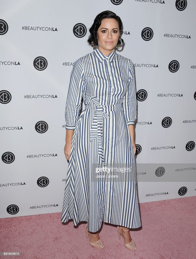 Sophia Amoruso attends the 5th annual Beautycon festival at Los Angeles Convention Center on August 13, 2017 in Los Angeles, California.